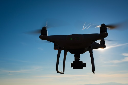 Drone à Marseille