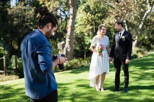 prestations d'un photographe de mariage